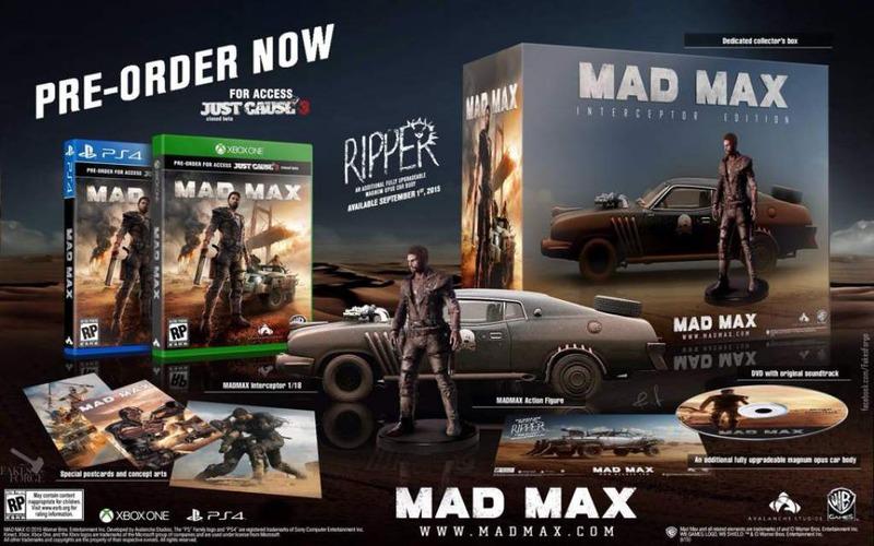 Svelata l'edizione limitata di Mad Max?