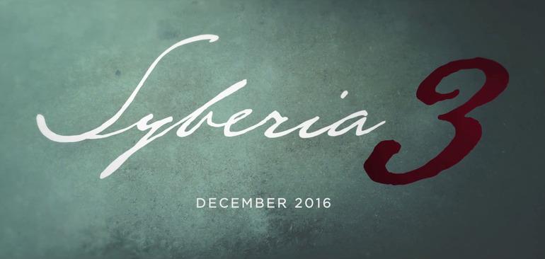 Syberia 3 esce a dicembre, pubblicato un video gameplay e il diario di sviluppo
