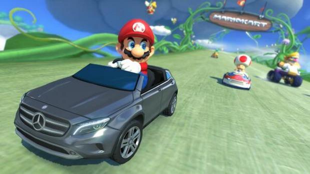 Mario Kart 8: il DLC Mercedes-Benz arriverà anche in Europa