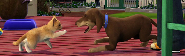 The Sims 3 Pets & Co - hands-on - PC