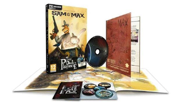 Sam & Max: The Devil Playhouse, i contenuti della versione retail