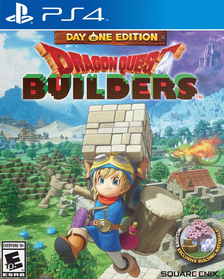 Dragon Quest Builders: annunciata la Day One Edition