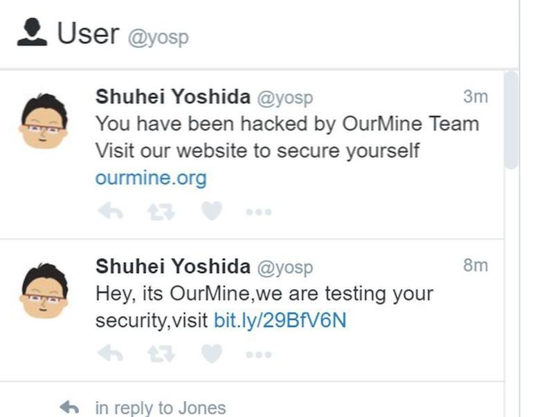 Il profilo Twitter di Shuhei Yoshida è stato violato dal gruppo OurMine