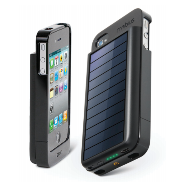 Pannello Solare Per Iphone : Cover con batteria e pannello solare per iphone