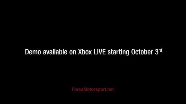 Forza Motorsport 4: annunciata la demo