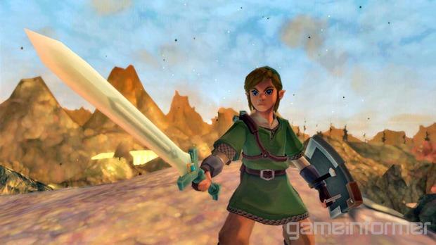 The Legend of Zelda Skyward Sword: una nuova galleria immagini