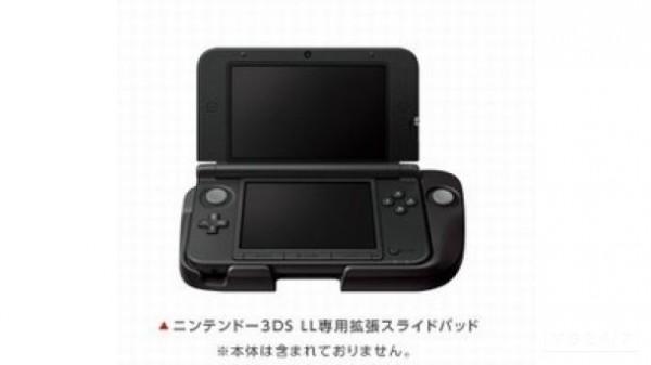 La prima immagine del Nintendo 3DS XL Circle Pad Pro