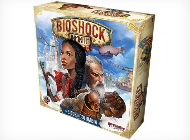 Bioshock Infinite: Siege of Columbia, dettagli sul gioco da tavola ufficiale dello shooter di Irrational Games