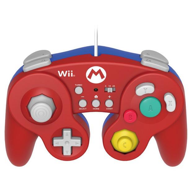 Wii U: Hori annuncia i controller GameCube dedicati a Mario e Luigi