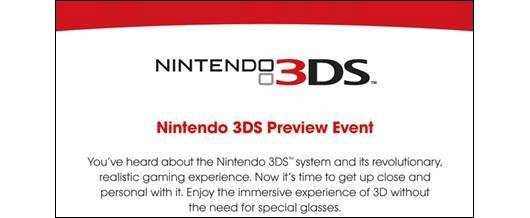 Nintendo 3DS: anche Nintendo America terrà una conferenza stampa il 19 Gennaio