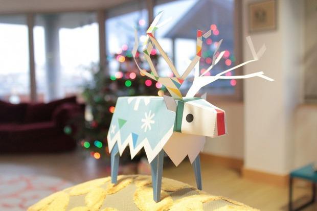Tearaway: Media Molecule vi regala una renna di carta per augurarvi buon Natale
