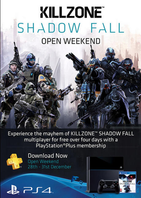 Killzone Shadow Fall: open weekend multiplayer anche in Europa