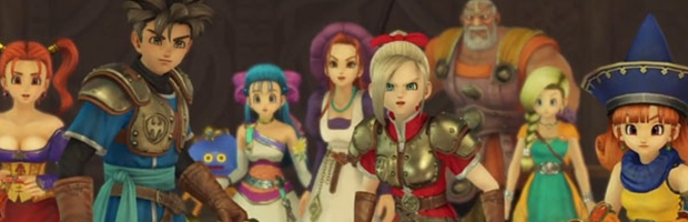 Dragon Quest: Heroes, video gameplay off-screen dal Jump Festa