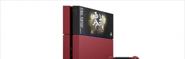 Final Fantasy Type-0 HD: bundle PS4 con console rossa