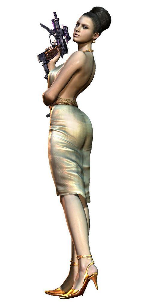 Excella Gionne come personaggio giocabile in Resident Evil 5: Gold Edition