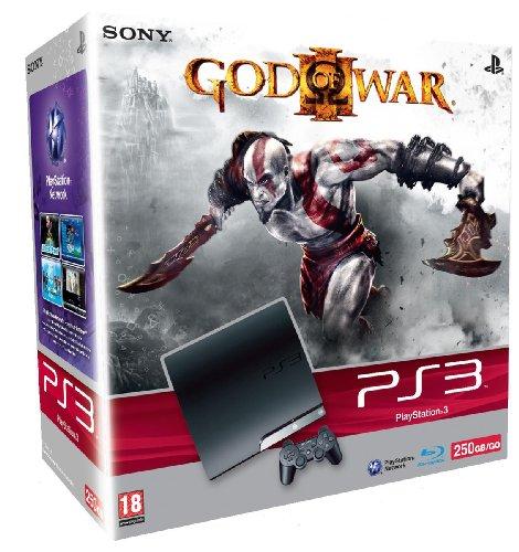 Una PS3 Slim da 250 GB per God of War 3