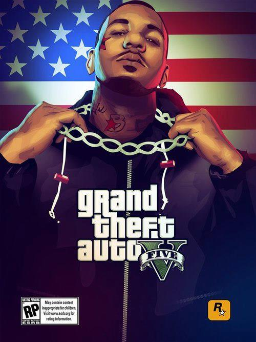 Grand Theft Auto V: nuovo artwork