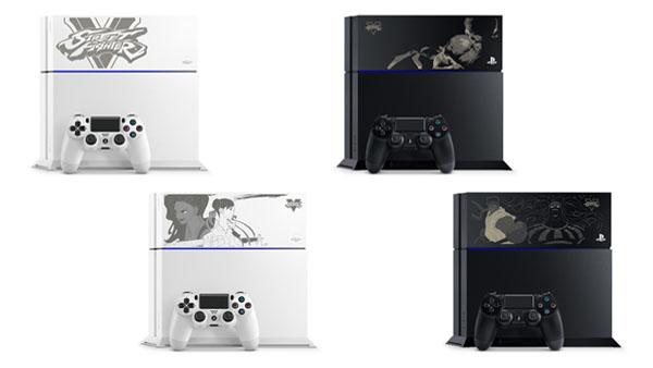PS4: annunciato un modello personalizzato per Street Fighter V