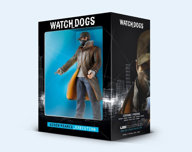 Watch Dogs: Ubisoft presenta l'action figure di Aiden Pearce