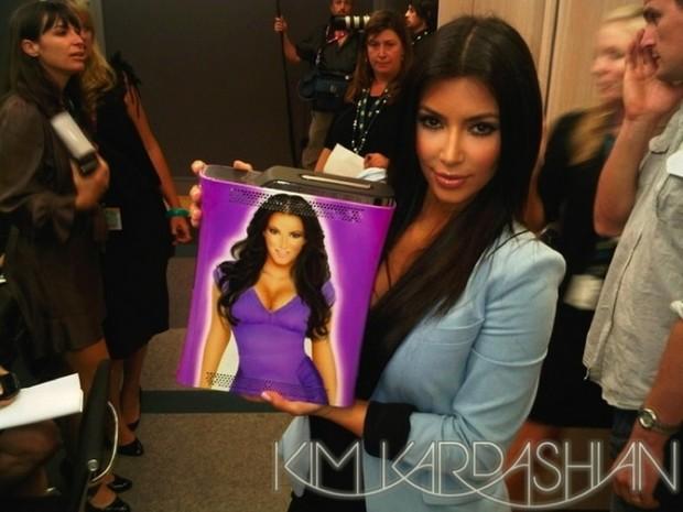 Una Xbox360 ultra-limitata dedicata a Kim Kardashian