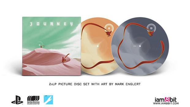 Le musiche di Journey incise su vinile