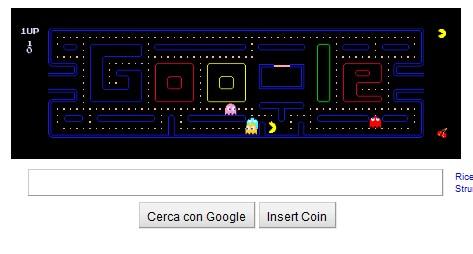 Google celebra i 30 anni di Pac-Man sulla sua homepage