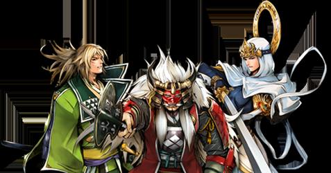 Sengoku IXA, il browser game di Square Enix e Yahoo