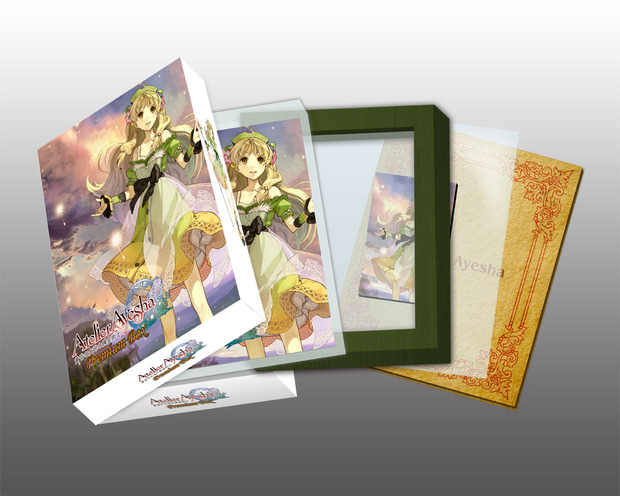 Atelier Ayesha: immagini e limited edition giapponese