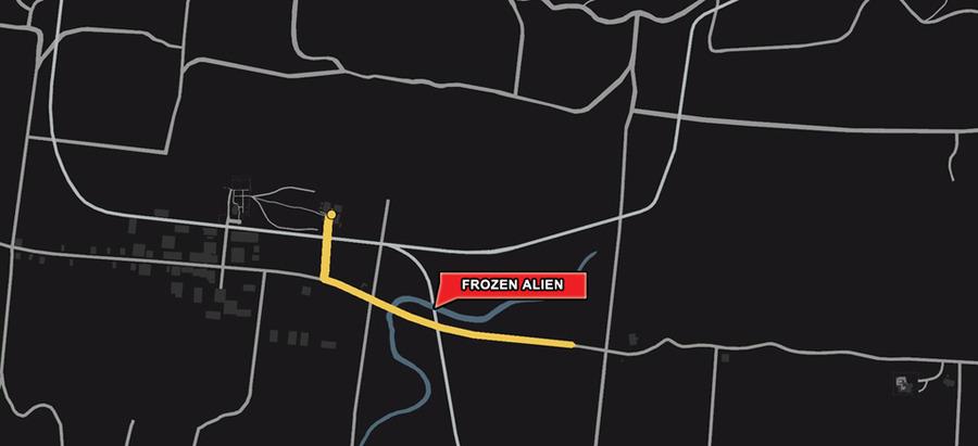 GTA5: Guia de como encontrar o EasterEgg do fROZEN Alien