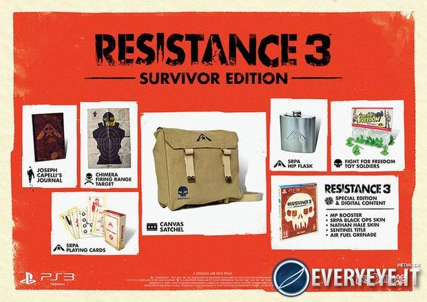 Resistance 3: nuovo trailer per la Survivor Edition