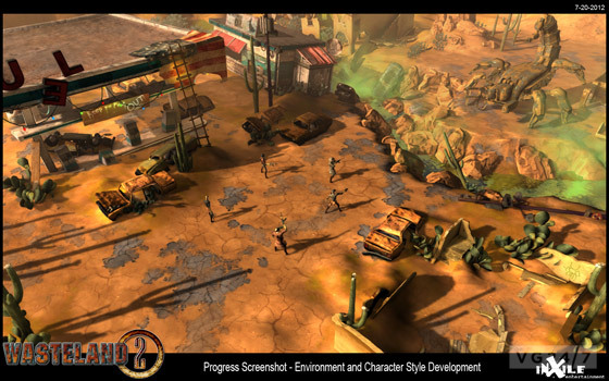 inXile rilascia il primo screenshot di Wasteland 2