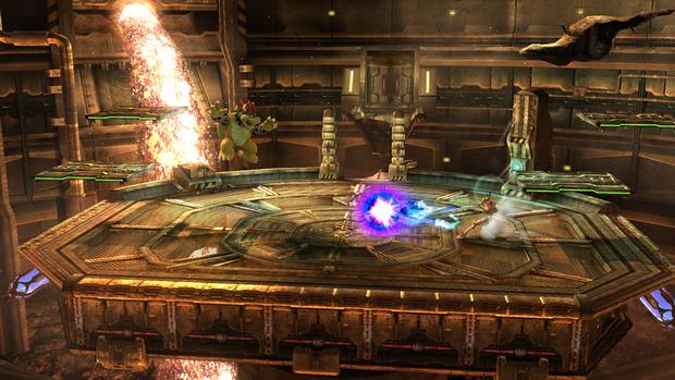 Super Smash Bros Wii U: un'immagine per lo stage di Metroid Other M