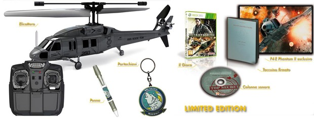 Ace Combat Assault Horizon: annunciata la Helicopter Edition