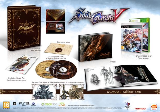 Soul Calibur V: data di uscita e collector's edition