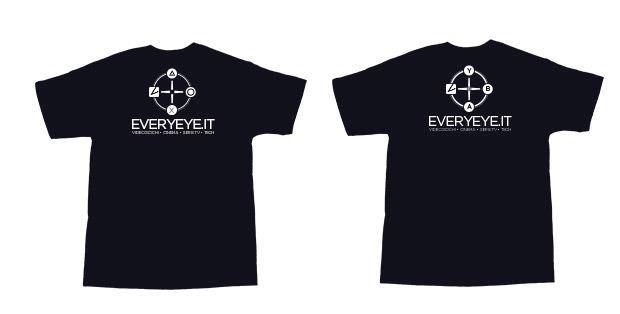 Le magliette di Everyeye.it in regalo al Lucca Comics & Games