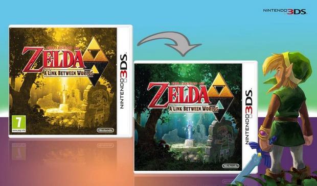 The Legend of Zelda: A Link Between Worlds - la cover sarà reversibile