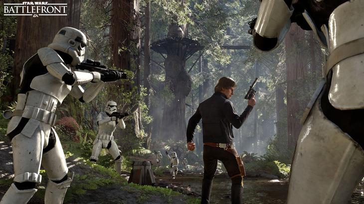 Star Wars Battlefront: Han Solo si mostra in una sola immagine