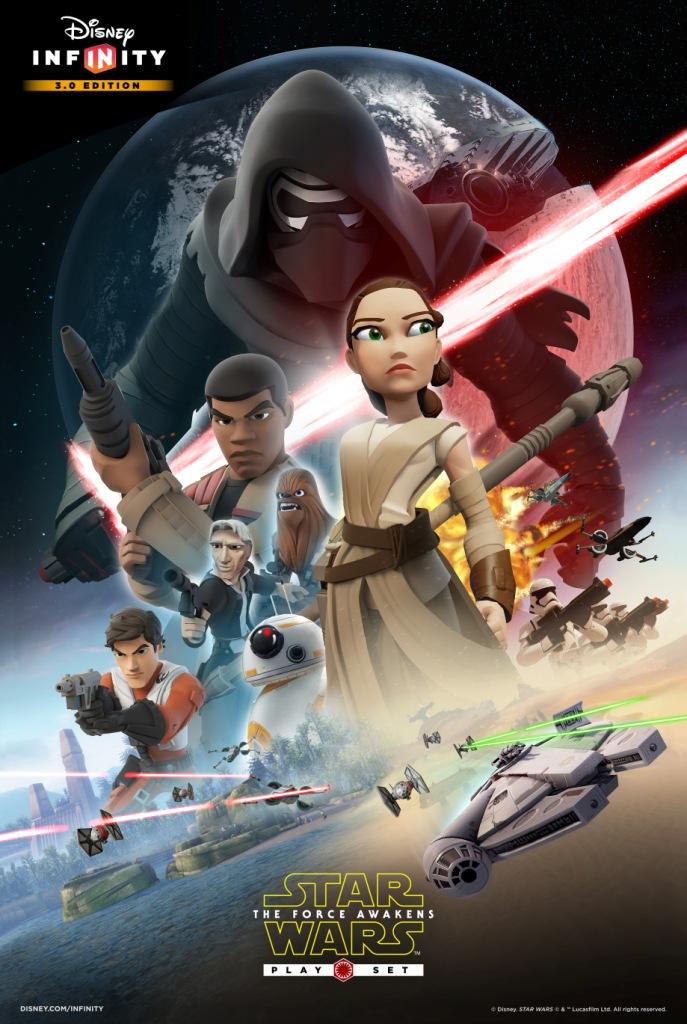 Disney Infinity 3.0: disponibile ora il playset di Star Wars Il Risveglio della Forza