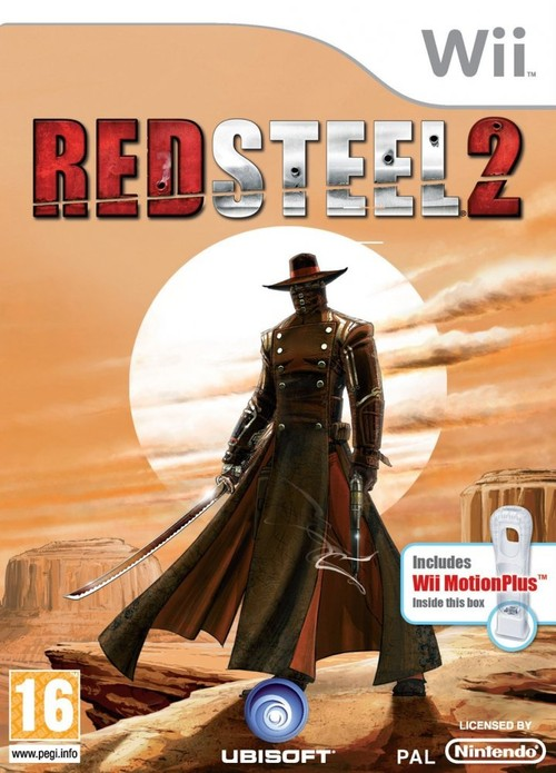 La Boxart PAL per Red Steel 2 conferma il bundle con il M+