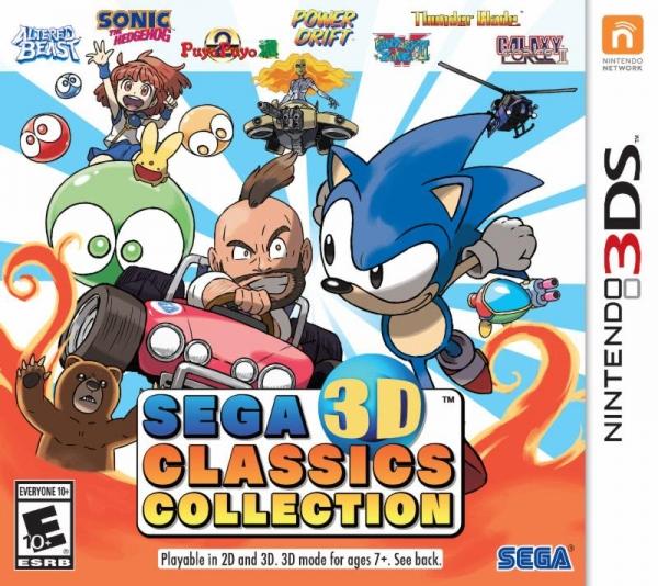 SEGA 3D Classics Collection in arrivo su Nintendo 3DS