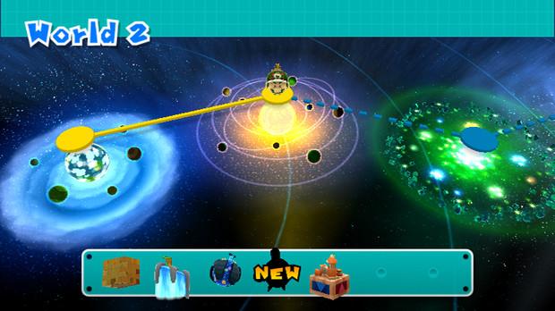 Super Mario Galaxy 2 avrà una mappa di gioco classica