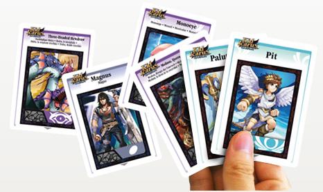 Kid Icarus Uprising: le carte AR disponibili sul Club Nintendo