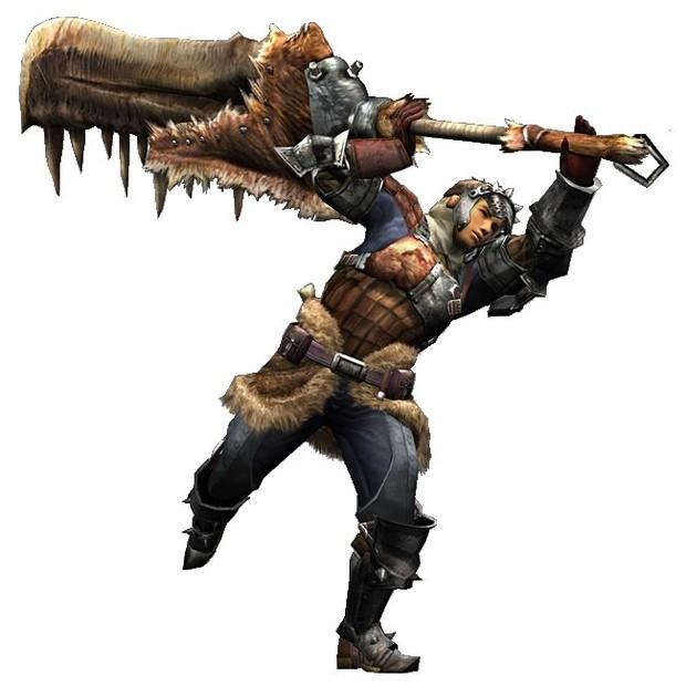 Potete dare un occhiata alle armi in azione a questo indirizzo  LinkGreatsword Monster Hunter