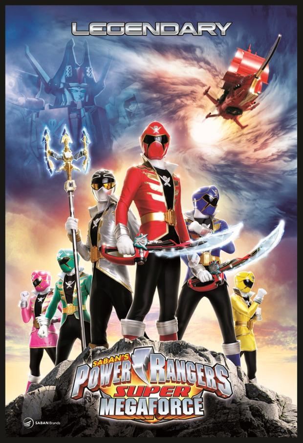 Power Rangers Super Megaforce annunciato su 3DS