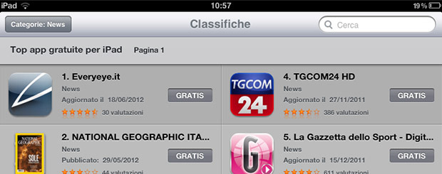 Everyeye App prima su App Store grazie a voi!