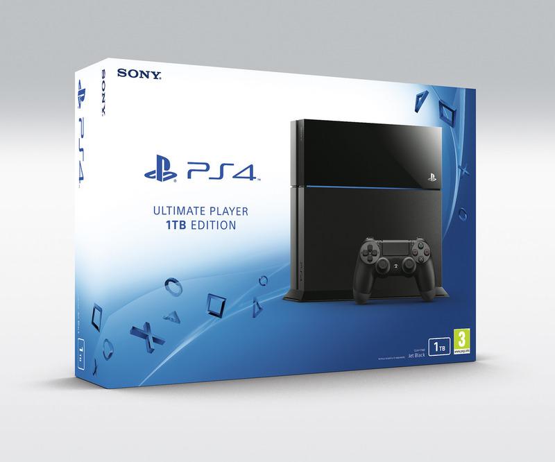 PlayStation 4 Ultimate Player Edition con hard disk da 1 Terabyte arriverà a luglio