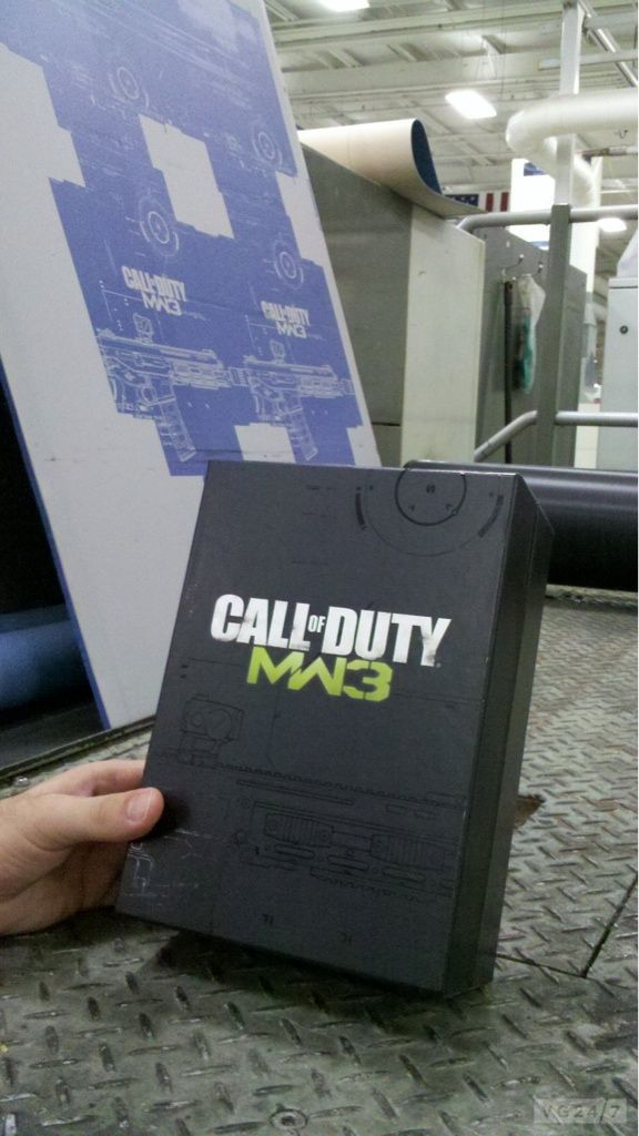 Call of Duty Modern Warfare 3: la prima immagine della 'Hardener Edition'