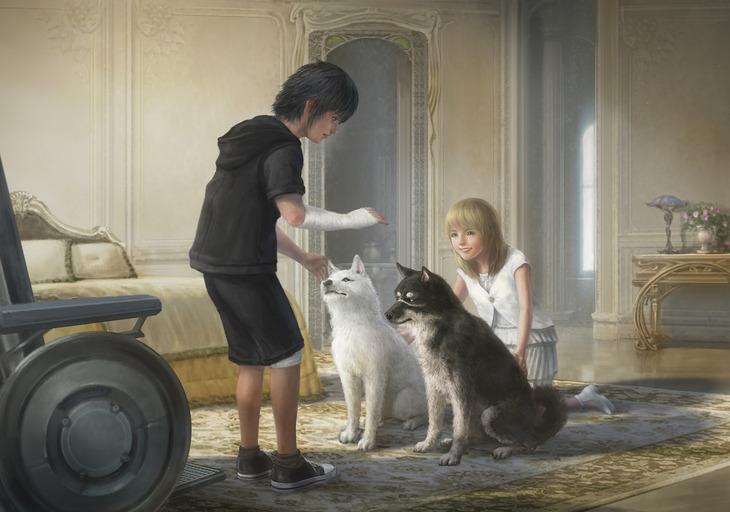 Final Fantasy XV: nuovo concept art di Luna e Noctis