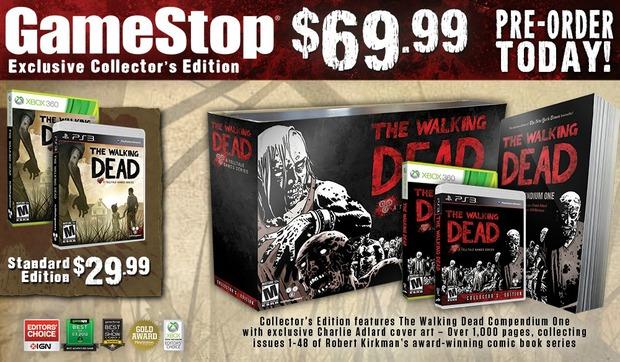 Negli USA annunciata una Collector's Edition per la serie  The Walking Dead di TellTale Games