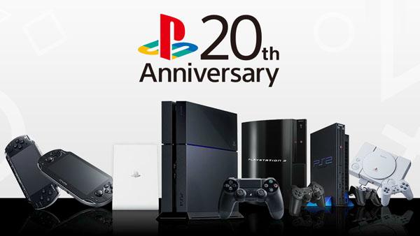 PlayStation 20th Anniversary: aperto il sito web ufficiale